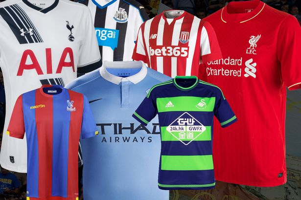 Premier League Teams' Kits